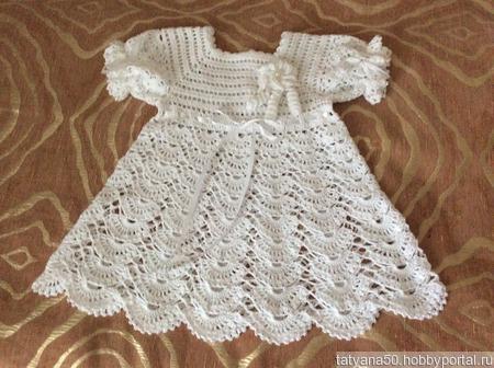 Крестильное платье ручной работы на заказ
