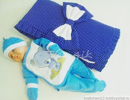 Базовый комплект для новорожденного, летний ручной работы на заказ