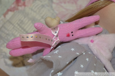 Интерьерная куколка ручной работы на заказ