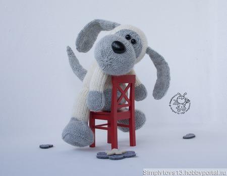 "Мастер-класс ""Милая Собачка"" ручной работы на заказ"