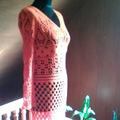 Бразильские мотивы-платье крючком.