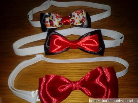 Бабочка-галстук ручной работы на заказ