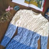 """Вязаное платье """"Косы"""" от Knit by Heart ручной работы в Москве"""