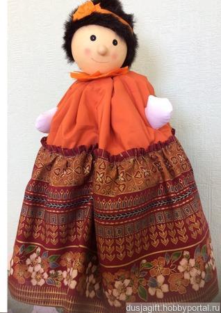 Кукла-грелка ручной работы на заказ