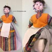Кукла для рулонной бумаги