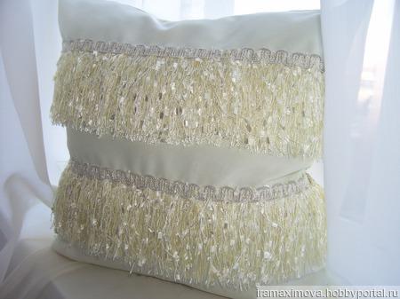 Подушка декоративная (наволочка)Настроение ручной работы на заказ