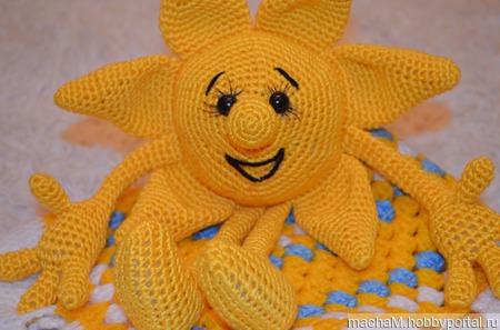 Солнышко для малыша ручной работы на заказ