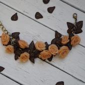 Браслет нежные розы