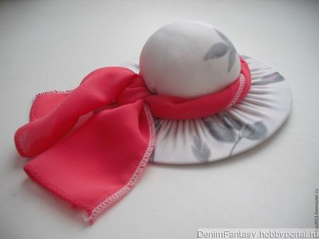 Игольница-шляпка ручной работы на заказ