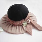 Игольница-шляпка