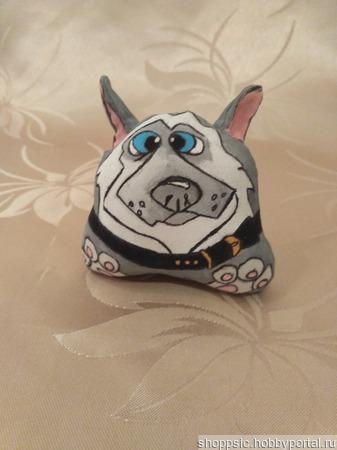 Сувенирная собачка ручной работы на заказ
