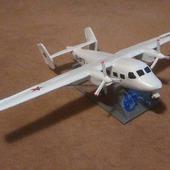 Модель-игрушка самолет Ан-28