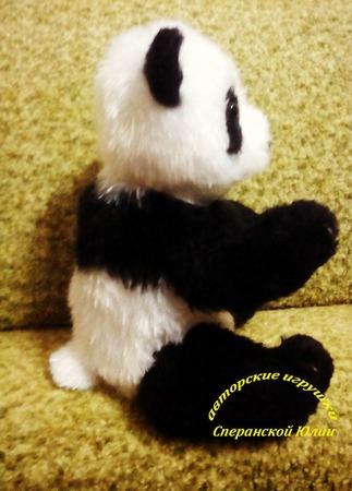 Большая панда ручной работы на заказ
