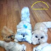 фото: Мастер-классы (котик спицами)