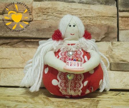 Тильда  - чайная феечка ручной работы на заказ