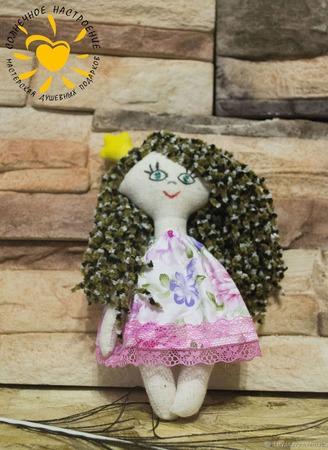 Текстильная кукла Принцесса ручной работы на заказ
