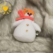 Снеговики. Текстильные снеговики. Снеговик-Тильда