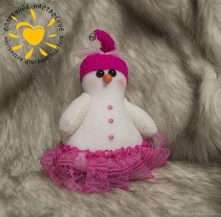 Снеговики. Текстильные снеговики. Снеговик-Тильда ручной работы на заказ