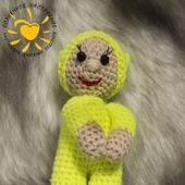 Кукла  пупс амигуруми крючком