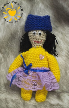 Кукла амигуруми ручной работы на заказ