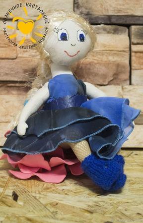 Кукла Эльза ручной работы на заказ