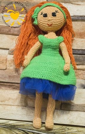 Кукла каркасная ручной работы на заказ