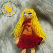 Кукла каркасная амигуруми Веселушка
