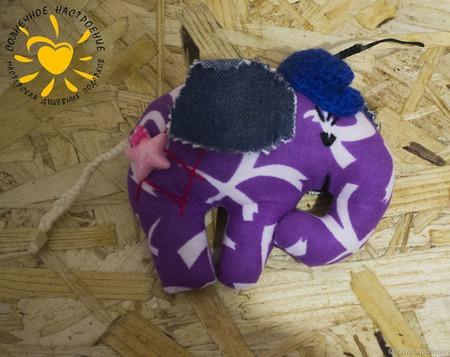 Текстильные слоники ручной работы на заказ