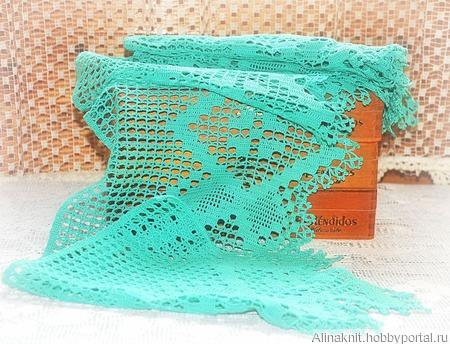 Филейное кружево , комплект для отделки занавесок ручной работы на заказ