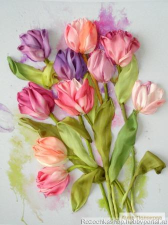 Весна рисует нам цветы... ручной работы на заказ