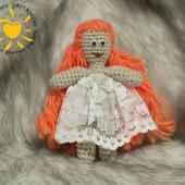 Вязаные куклы жених и невеста