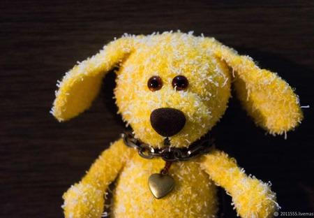 Собачка вязаная Жужа ручной работы на заказ
