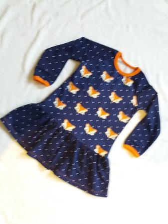 Платье лисички ручной работы на заказ