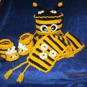 "Ручная работа ""Набор пчелка-майя"" на любой возраст по заказу"