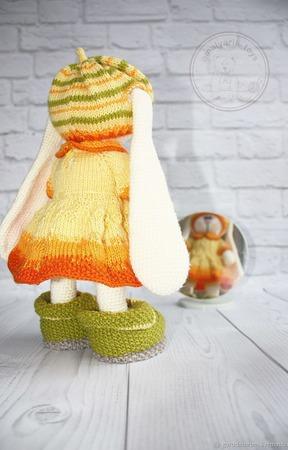 """Мастер-класс Комплект одежды для зайки """"Краски осени"""" ручной работы на заказ"""