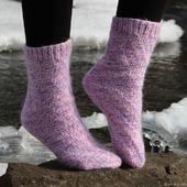 """Теплые носки """"Сладкий ноябрь"""""""