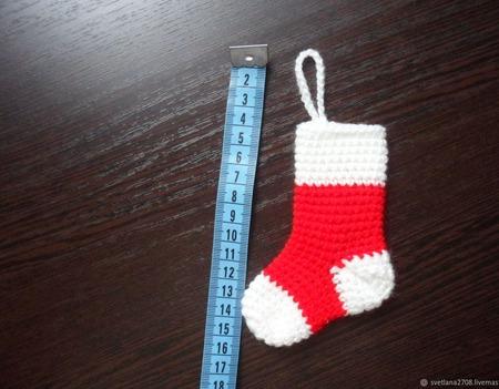 Новогодние носочки! ручной работы на заказ