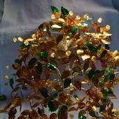 "Бисерное дерево ""Осенний вальс"""
