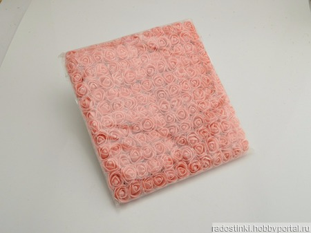 Розочки из фоамирана 2 см (12 розочек в связке) ручной работы на заказ