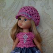 Платье с кепочкой или беретом для Паолы Рейна