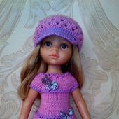 Платье и кепочка для Паолы