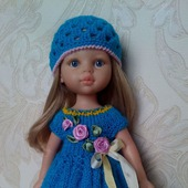 Платье и шапочка для Паолы