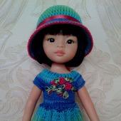 Платье и шляпка для Паолы.