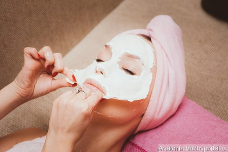Альгинатная маска ручной работы на заказ