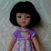 Платье для куклы Паола Рейна.