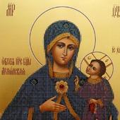 Образ Пресвятой Богородицы Армянская Схема бисером