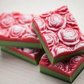 Мыло ручной работы Розовые Грёзы