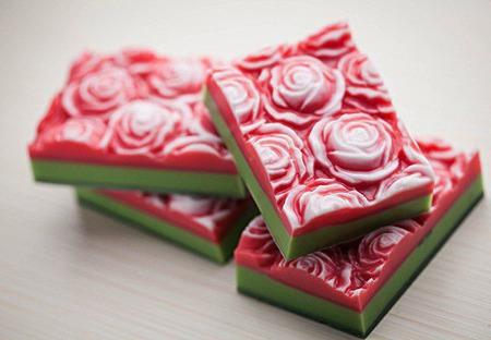 Мыло ручной работы Розовые Грёзы ручной работы на заказ