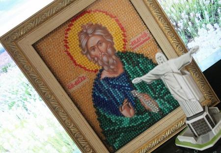 Святой Андрей ручной работы на заказ