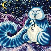 Набор для вышивки Сделай своими руками Л-07 «Лунный кот»